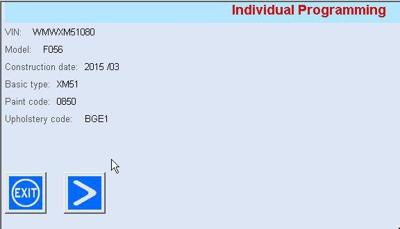 Software-update op afstand uitgevoerd via onze Odiso-remote – Mini